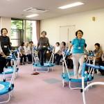 奈良県桜井市委託事業 ケアトランポリン教室